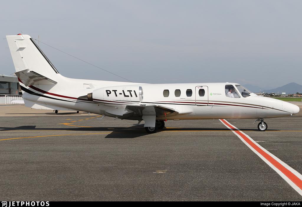 PT-LTI - Cessna 500 Citation - Private