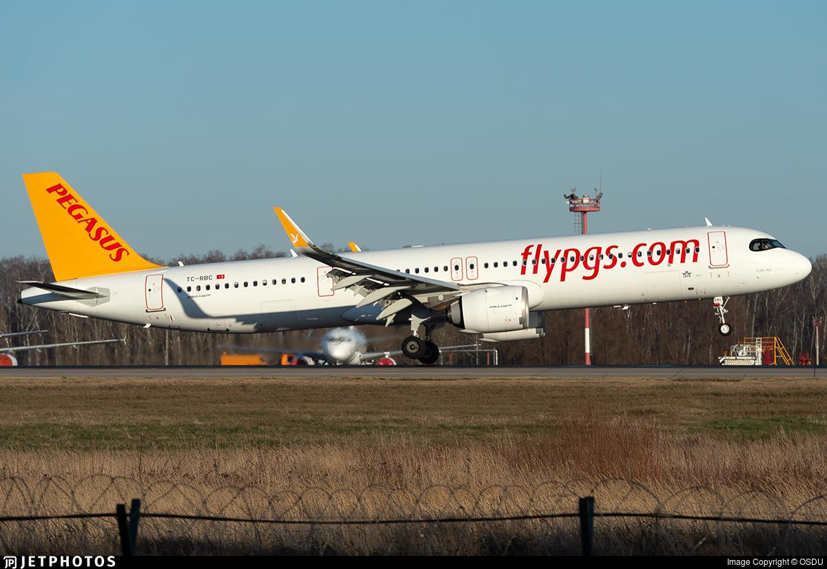 TC-RBC - Airbus A321-251NX - Pegasus Airlines