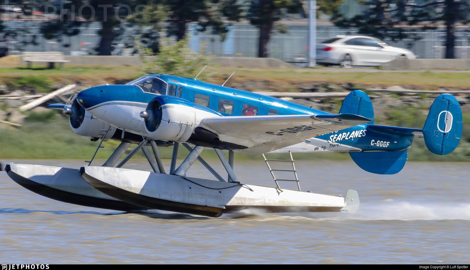 C-GGGF - Beech CT-128 Expeditor Mk.3NM - Pacific Seaplanes