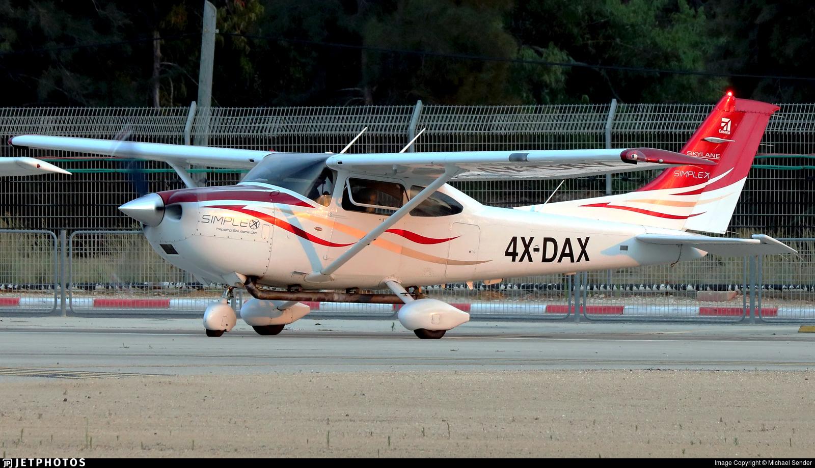 4X-DAX - Cessna T182T Skylane TC - MoonAir