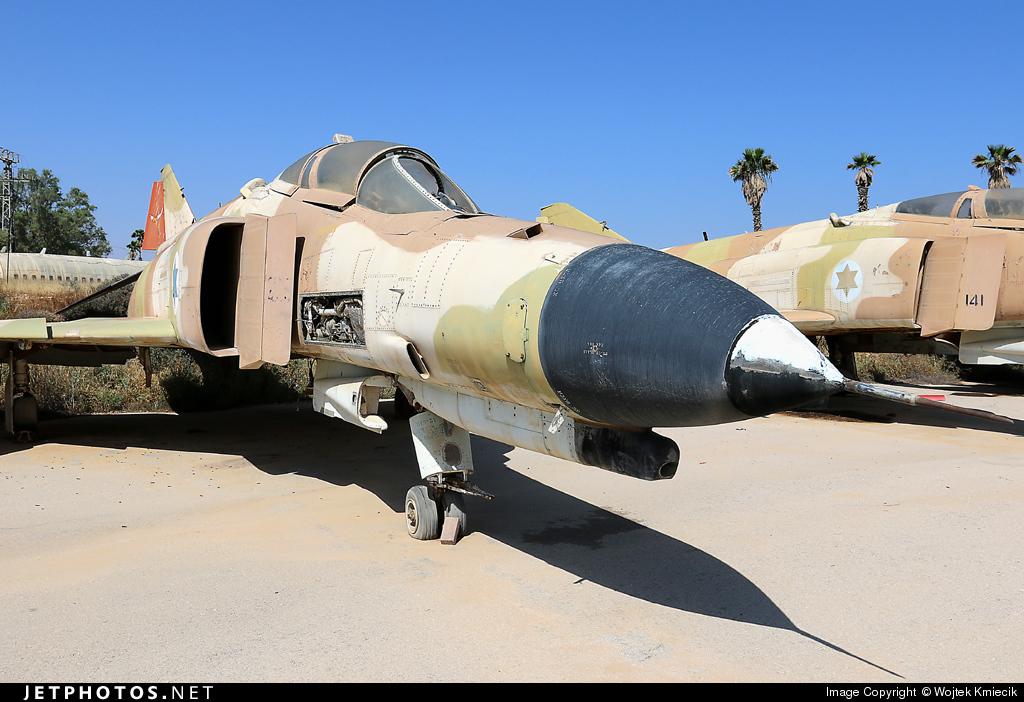 225 - McDonnell Douglas F-4E Phantom II - Israel - Air Force