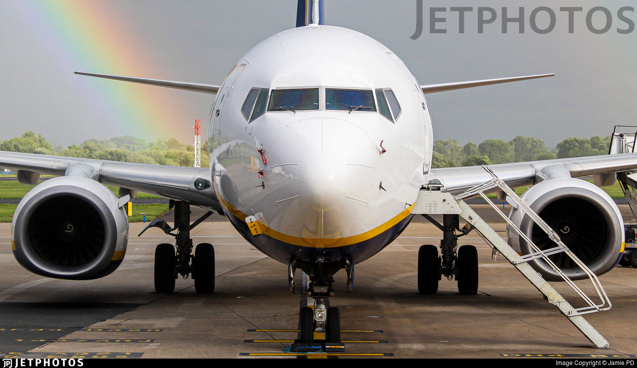 EI-DAL - Boeing 737-8AS - Ryanair