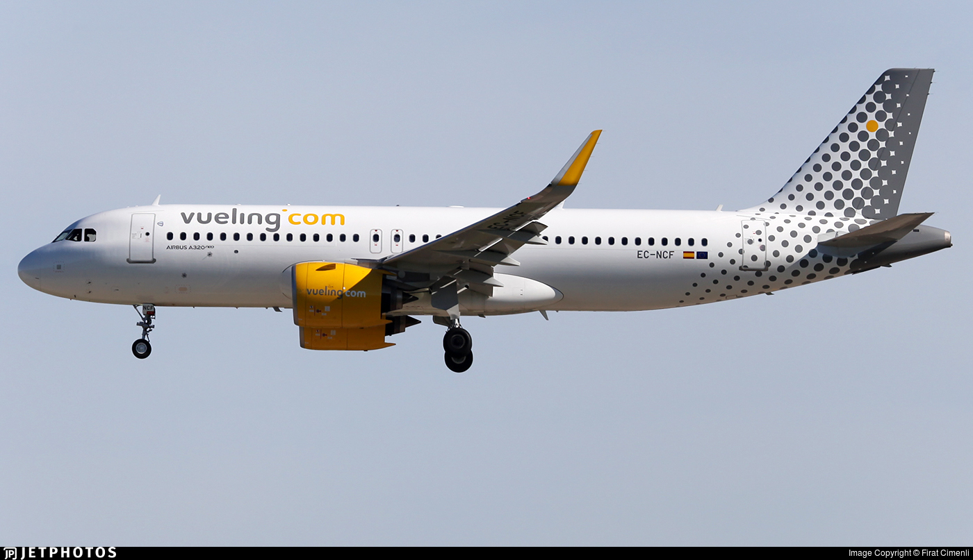 EC-NCF - Airbus A320-271N - Vueling Airlines