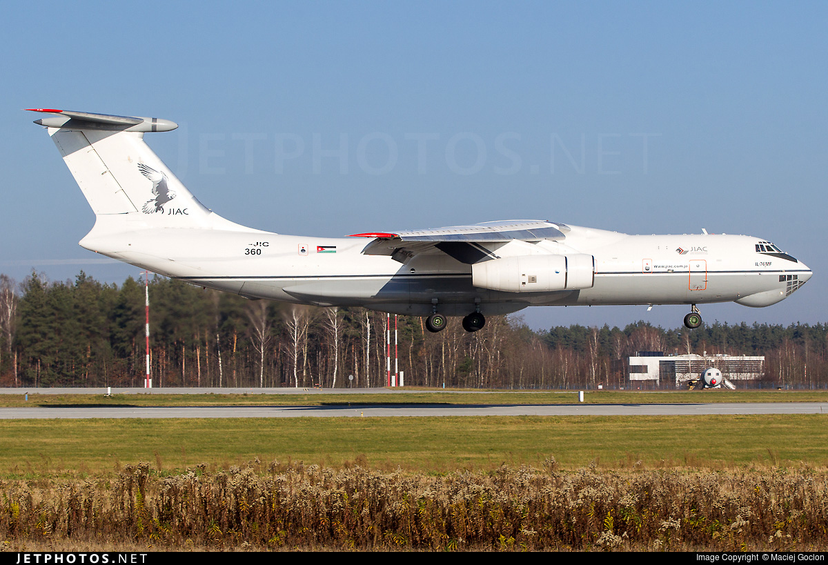 360 - Ilyushin IL-76MF - Jordan - Air Force