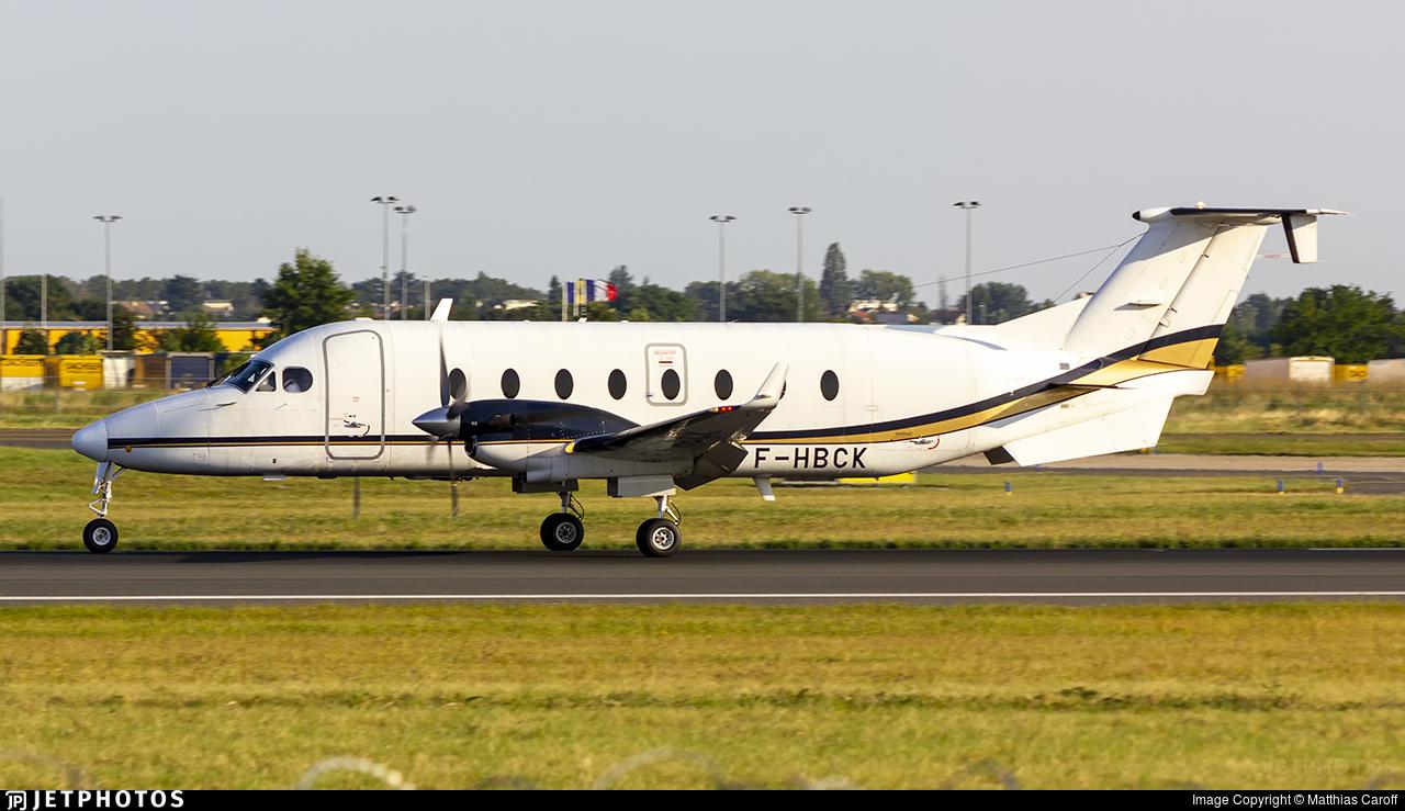 F-HBCK - Beech 1900D - Chalair Aviation