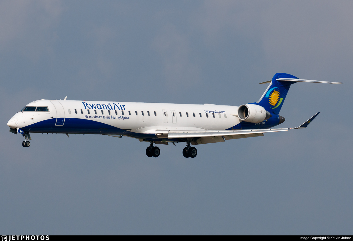 9XR-WI - Bombardier CRJ-900 - RwandAir