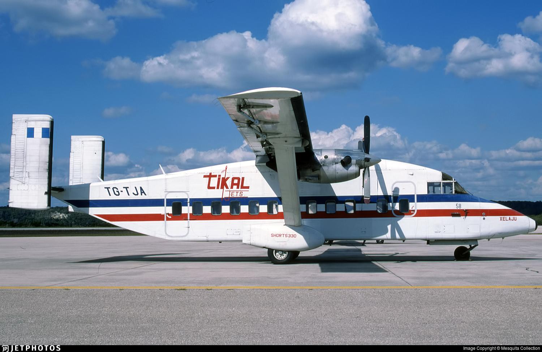 TG-TJA - Short 330-100 - Tikal Jets