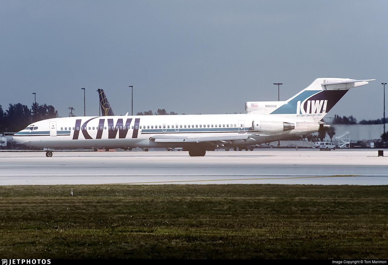 N8880Z - Boeing 727-225(Adv) - KIWI International Airlines