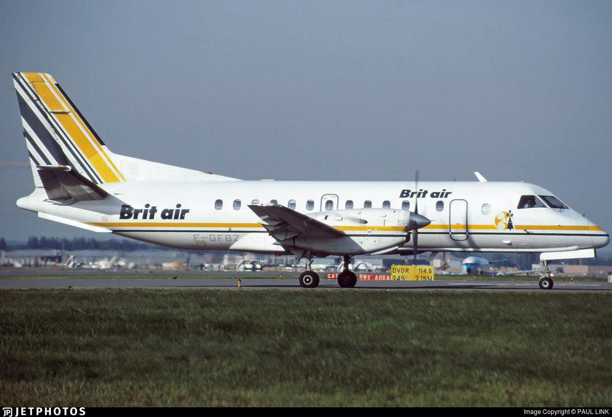 F-GFBZ - Saab 340A - Brit Air