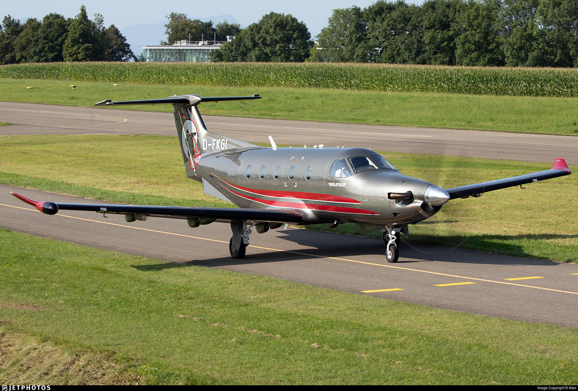 D-FKGI - Pilatus PC-12/47E - Private