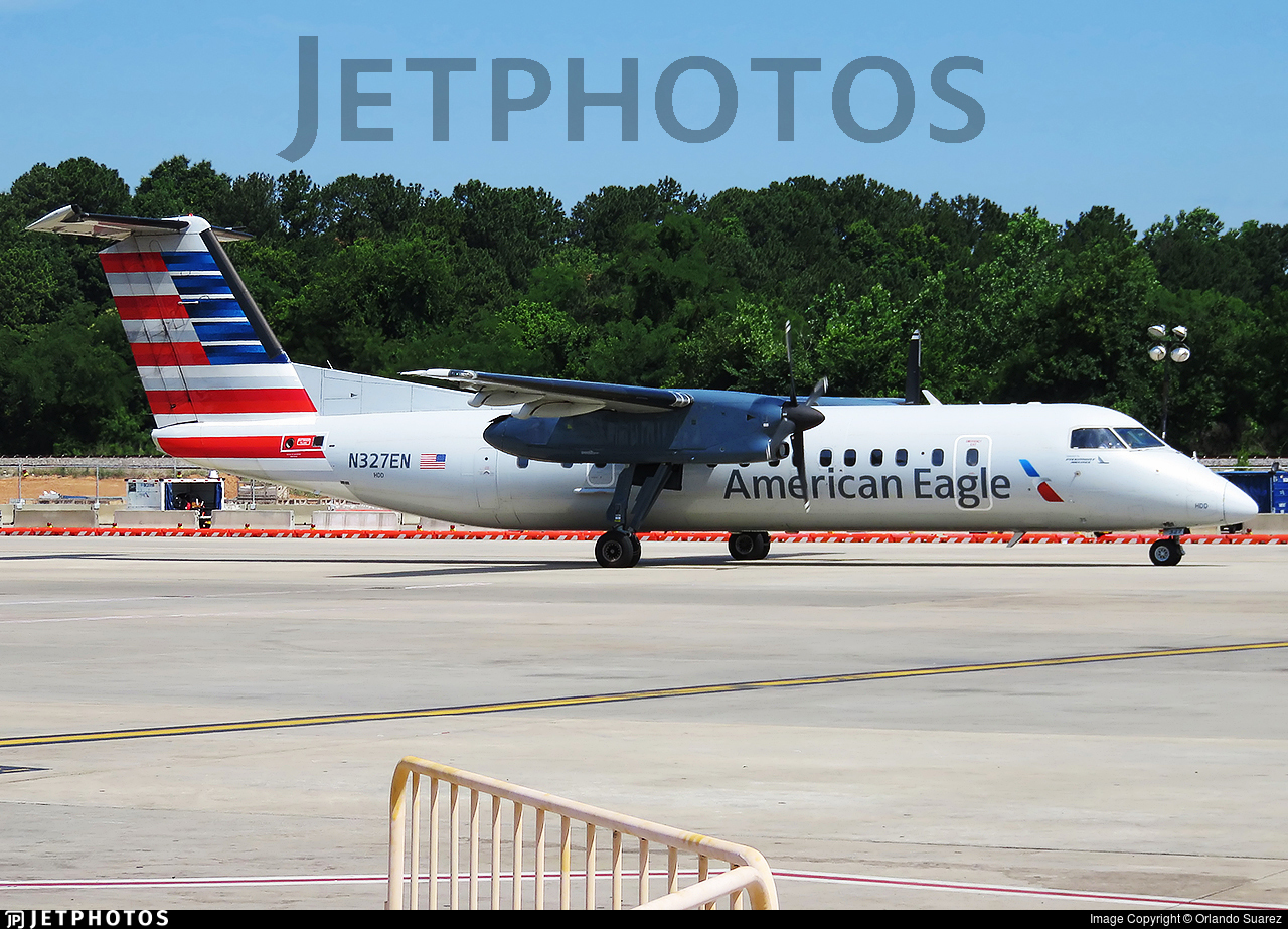N327EN - Bombardier Dash 8-311 - American Eagle (Piedmont Airlines)