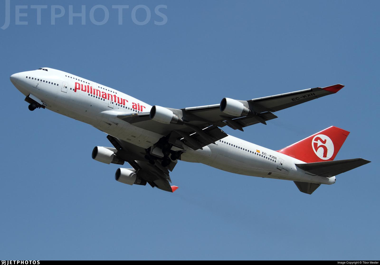 EC-KXN - Boeing 747-4H6 - Pullmantur Air