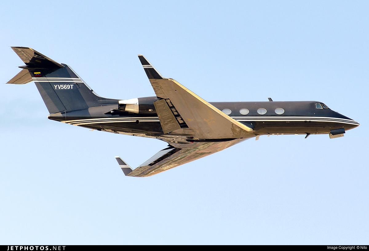 YV569T - Gulfstream G-IIB - Private