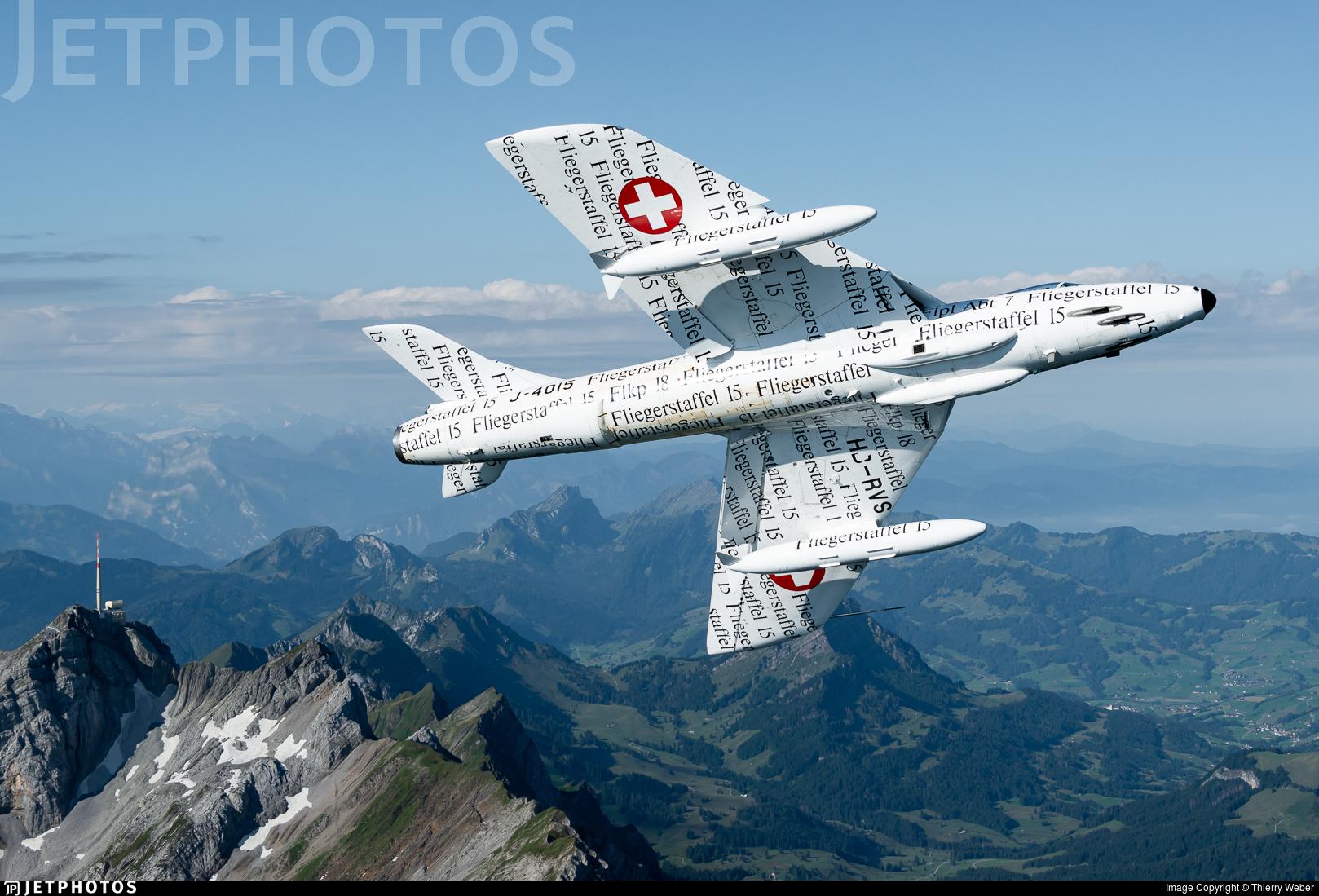 HB-RVS - Hawker Hunter Mk.58  - Private