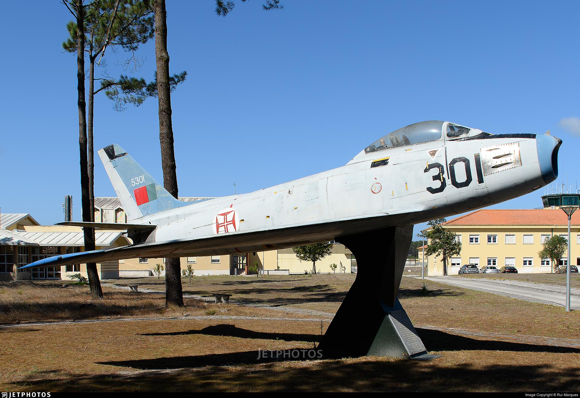 5301 - North American F-86F Sabre - Portugal - Air Force