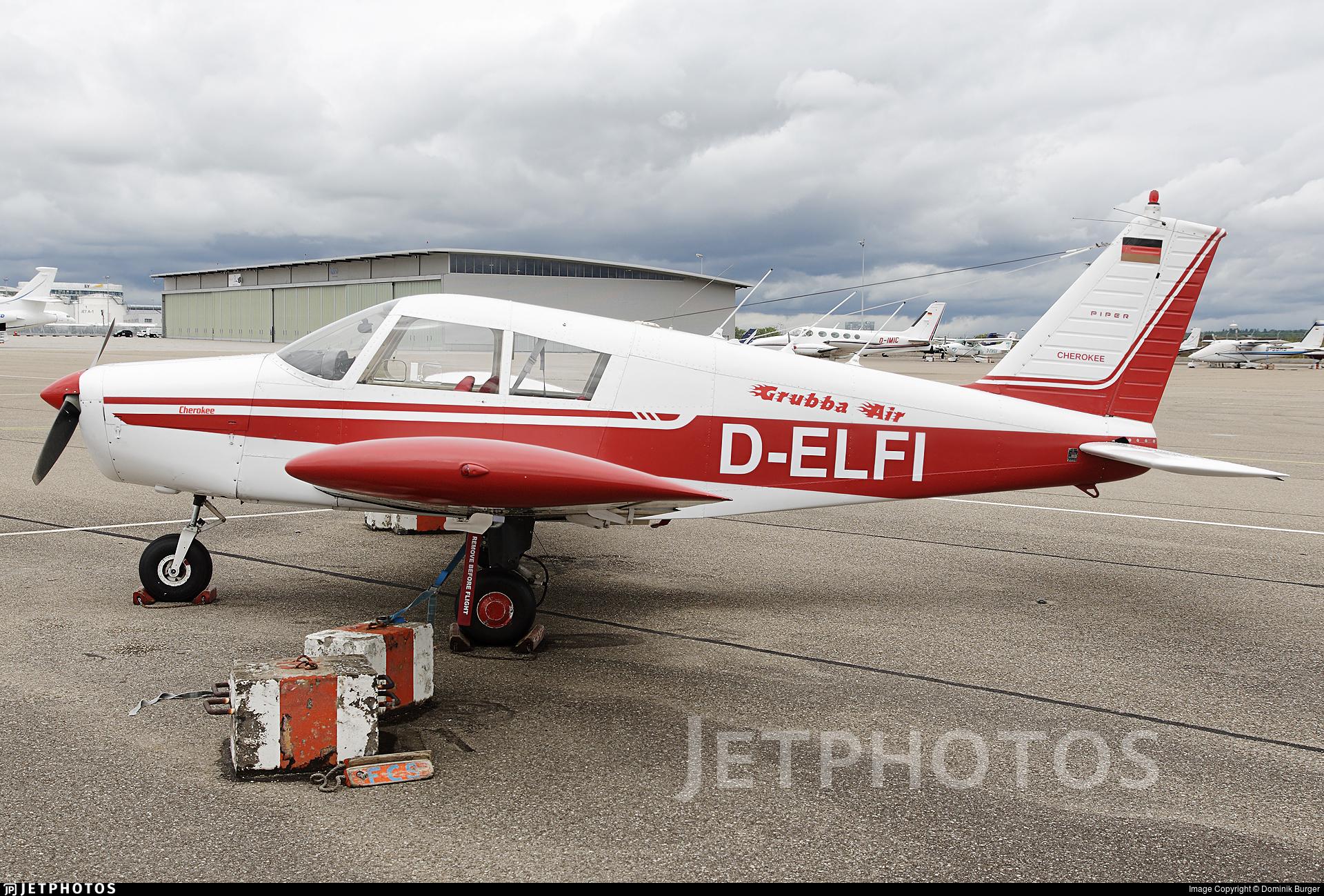 D-ELFI   Piper PA-28-140 Cherokee E   Private   Dominik