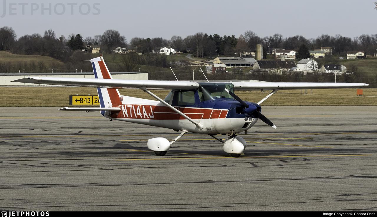 N714AJ - Cessna 150M - Private