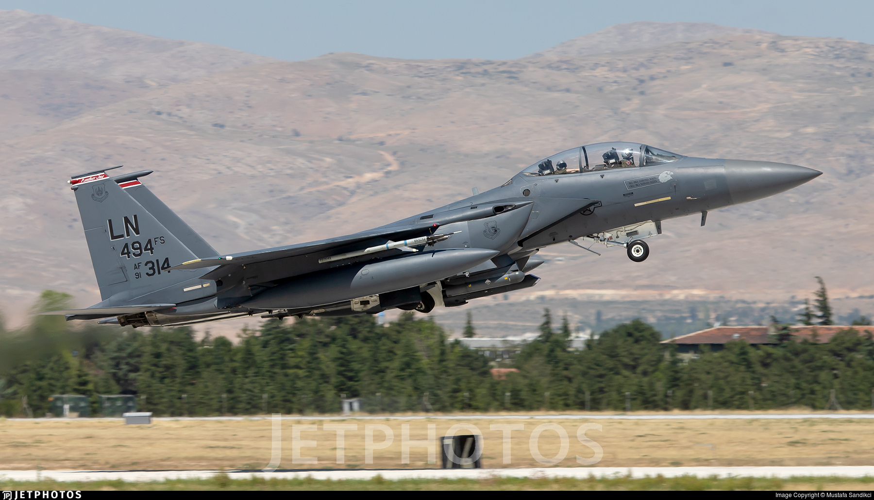 91-0314 - McDonnell Douglas F-15E Strike Eagle - United States - US Air Force (USAF)