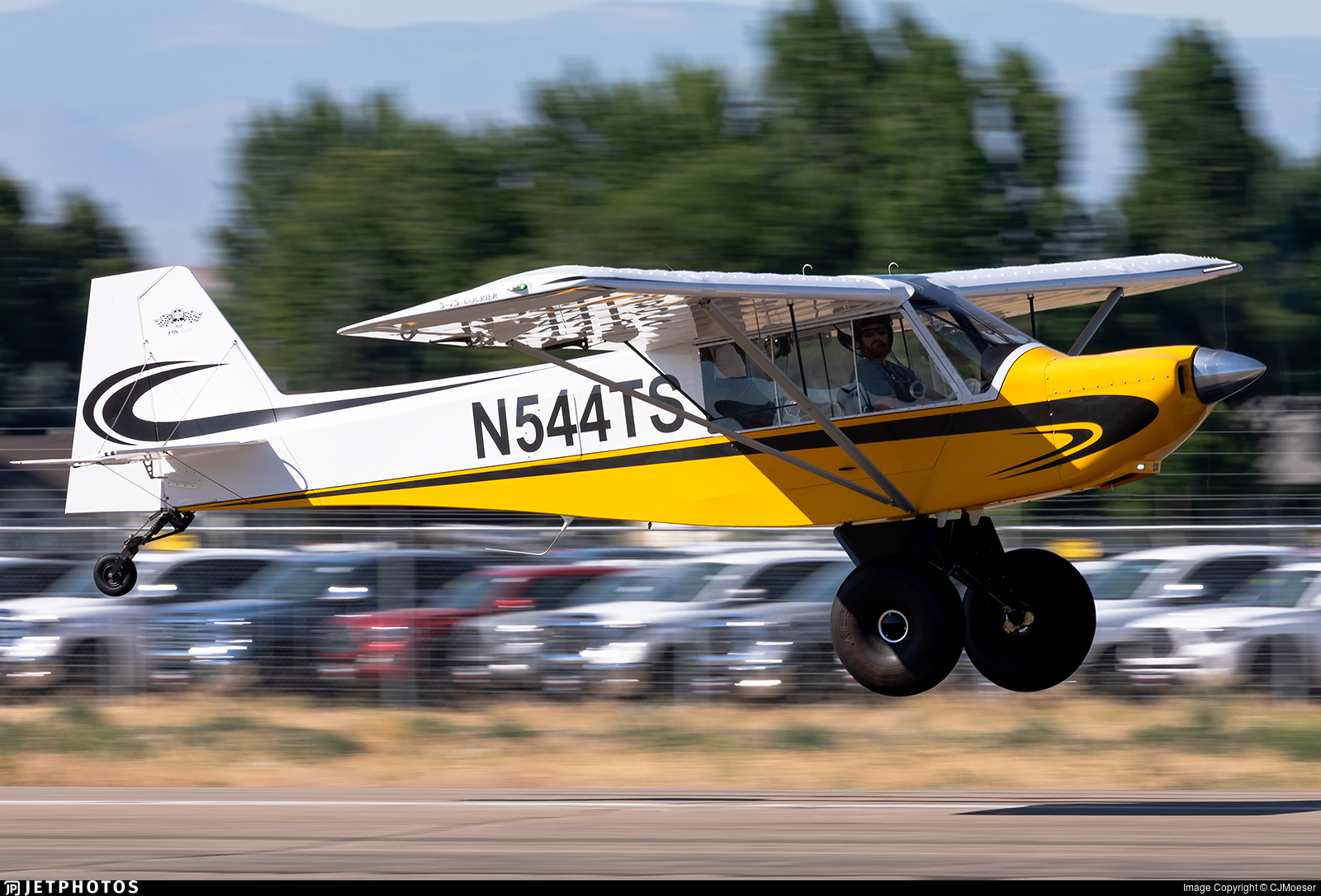 N544TS - Rans S-7S Courier - Private