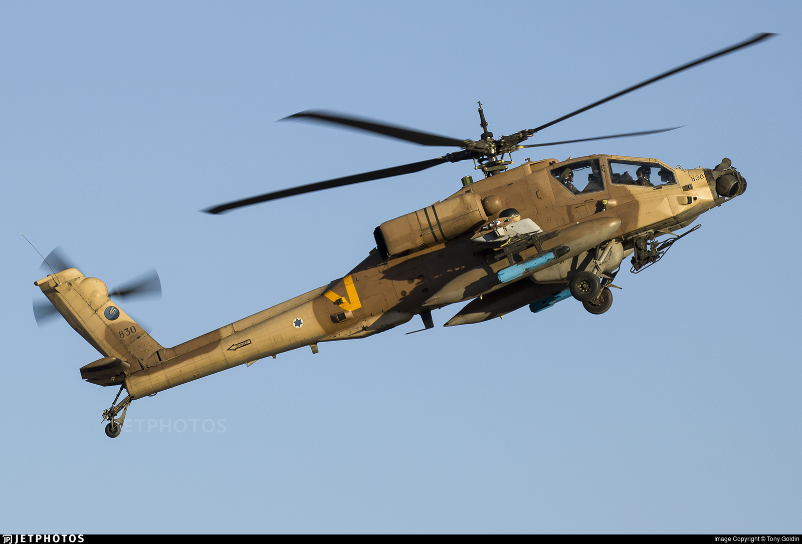 830 - Boeing AH-64D Peten - Israel - Air Force