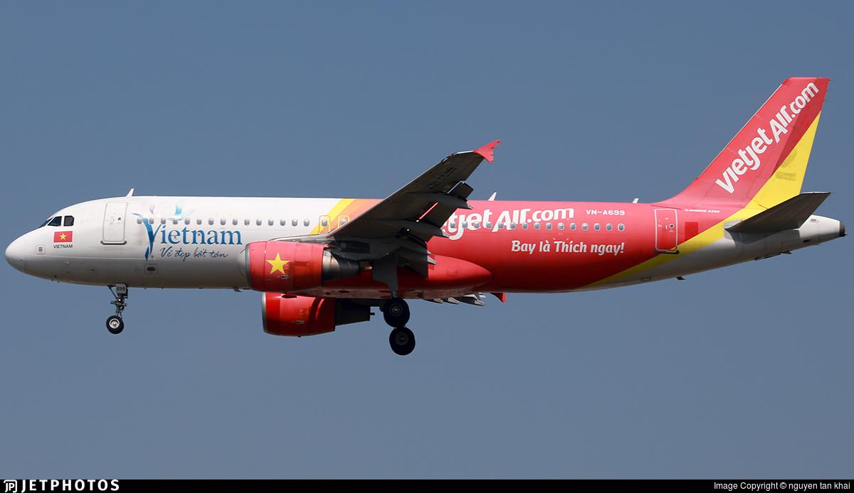 VN-A699 - Airbus A320-214 - VietJet Air