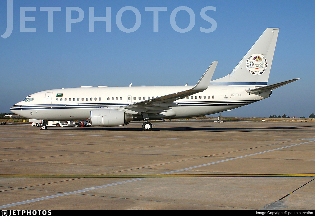 HZ-TAA - Boeing 737-7P3(BBJ) - Saudi Aramco Aviation