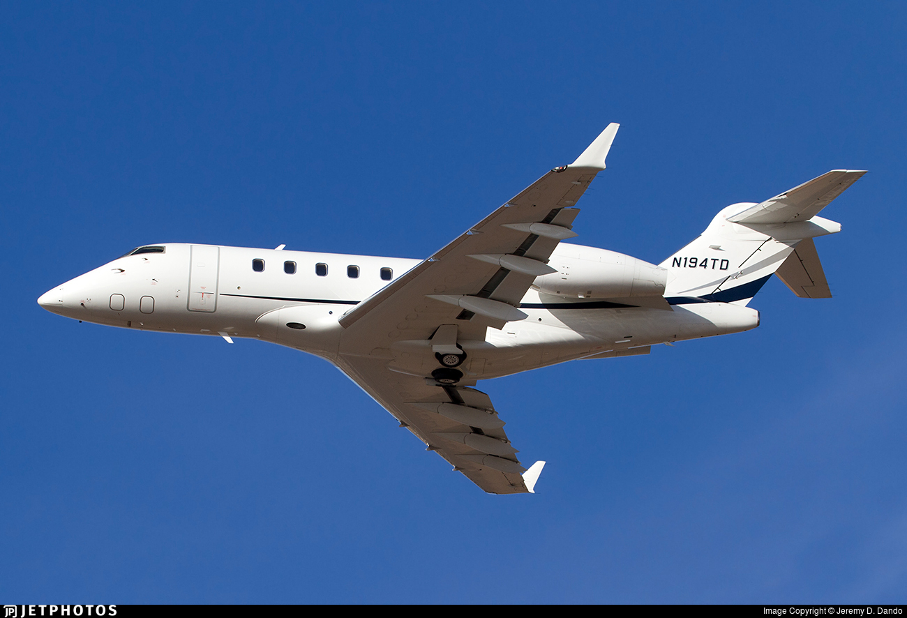 N194TD - Bombardier BD-100-1A10 Challenger 300 - Private