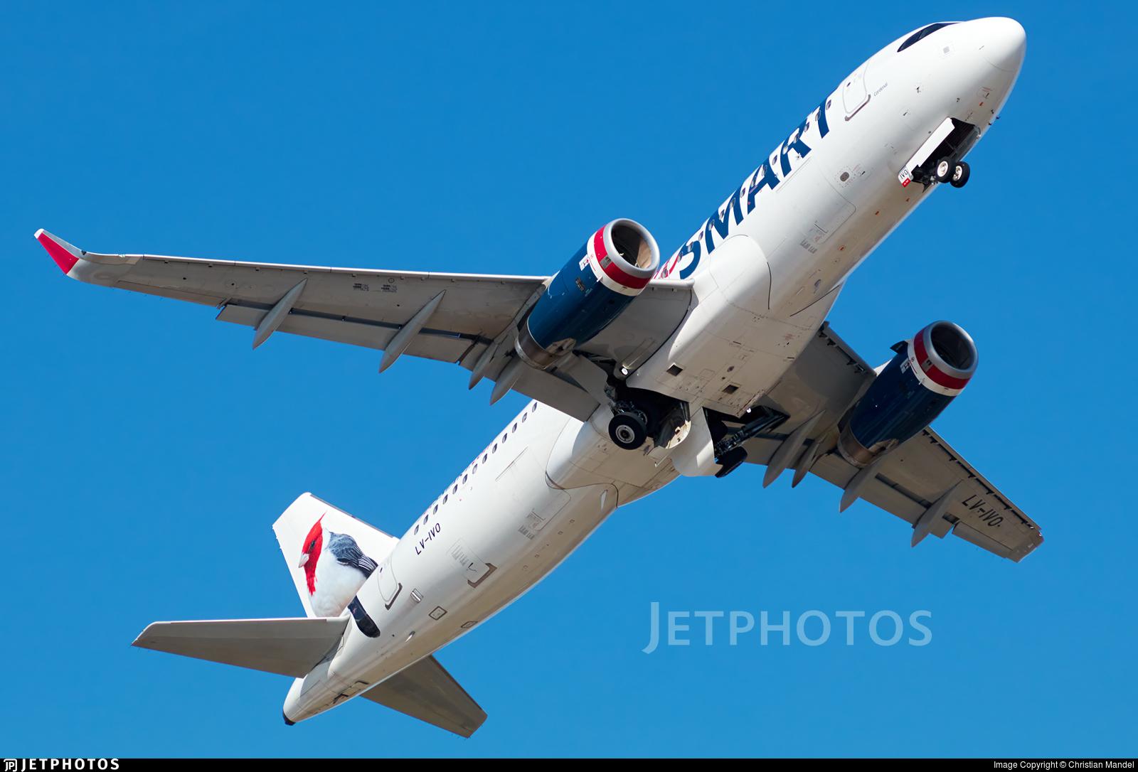 LV-IVO - Airbus A320-232 - JetSmart Argentina