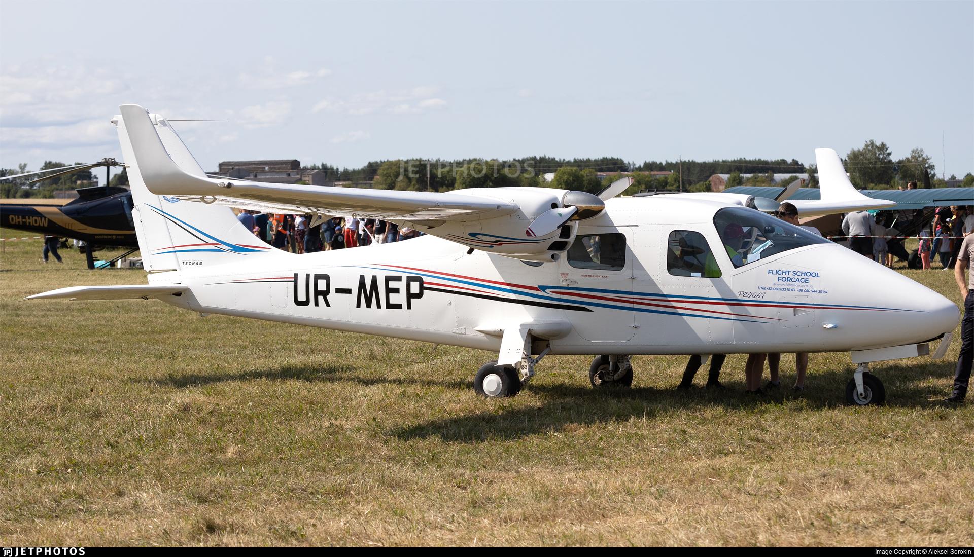 UR-MEP - Tecnam P2006T - Flight School Forsage