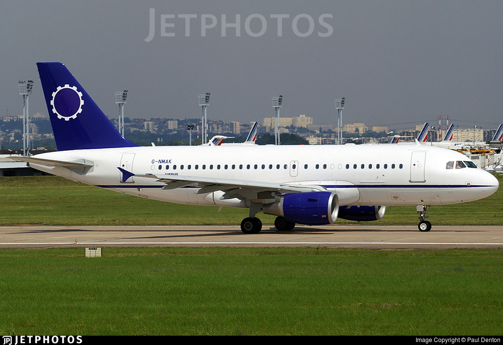 G-NMAK - Airbus A319-115X(CJ) - Twinjet Aircraft