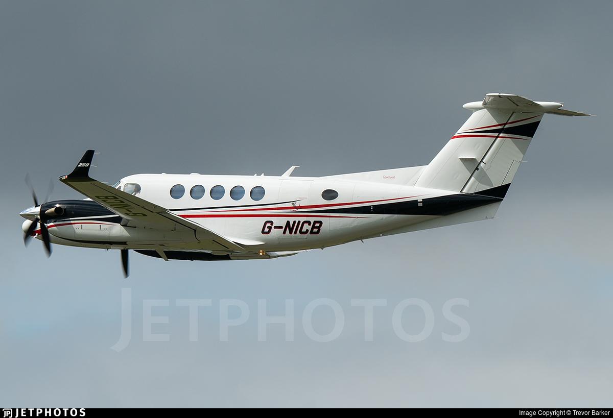 G-NICB - Beechcraft B200GT King Air 250 - Dragonfly Aviation Services