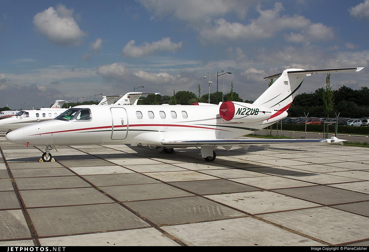 N22UB - Cessna 525 Citationjet CJ4 - Private