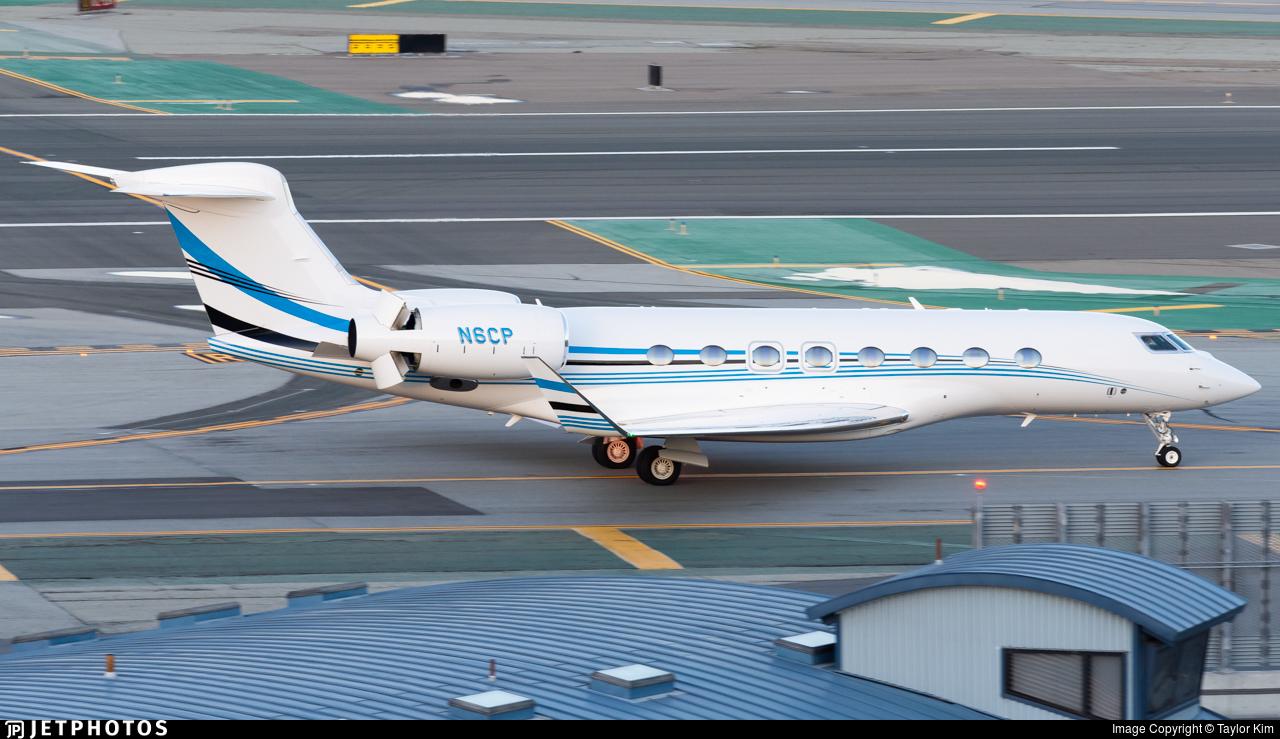 N6CP - Gulfstream G650ER - Private