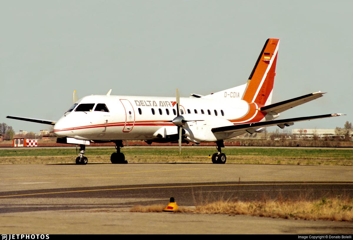 D-CDIA - Saab 340A - Delta Air