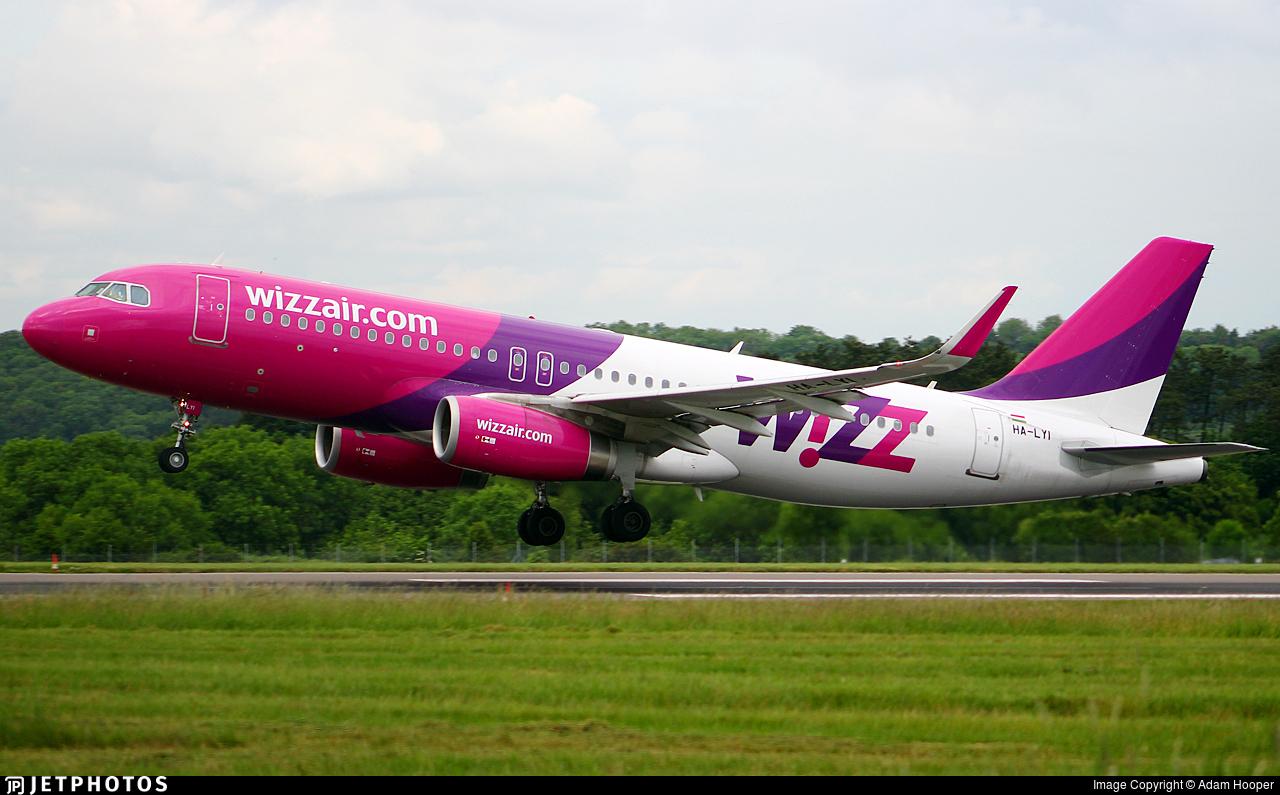 HA-LYI - Airbus A320-232 - Wizz Air