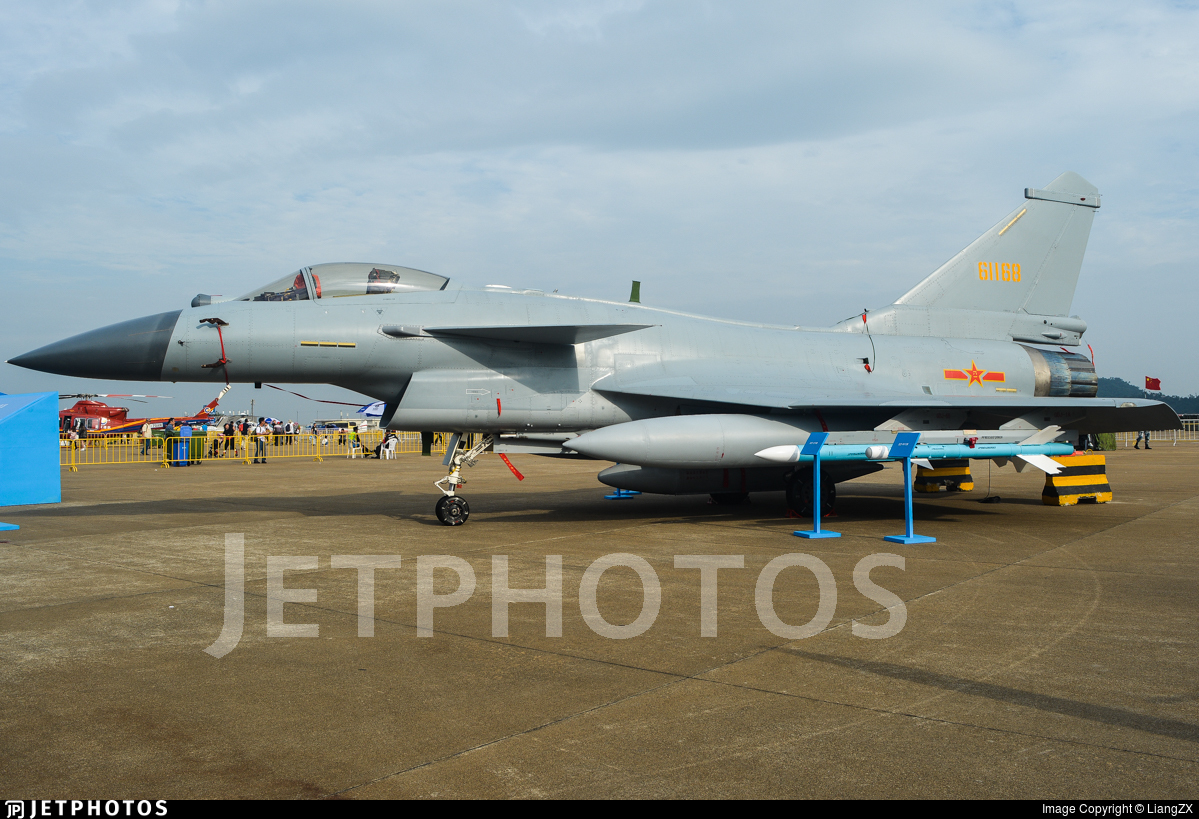 61168 - Chengdu J10B - China - Air Force