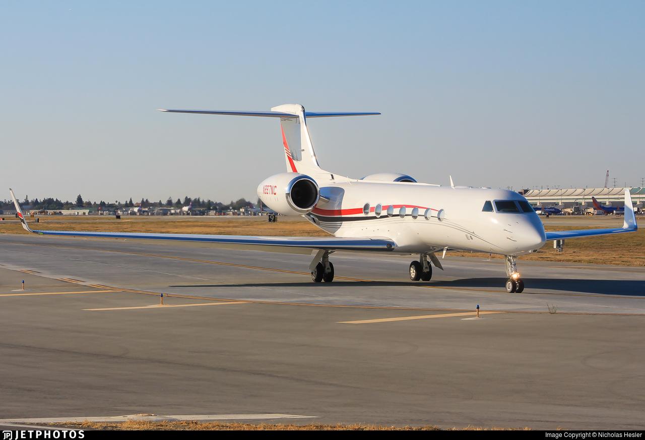 N897NC - Gulfstream G550 - Private