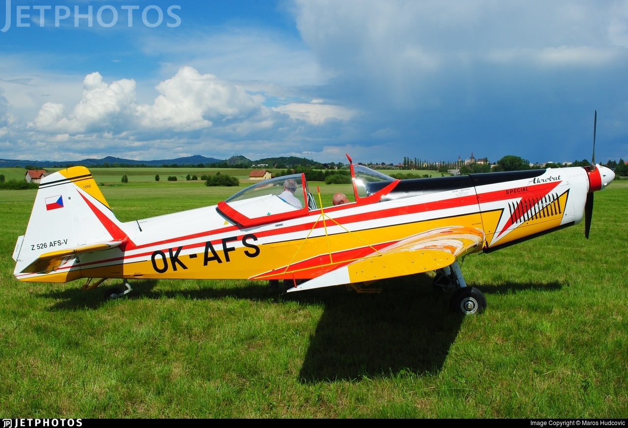 OK-AFS - Zlin 526AFS-V - Private
