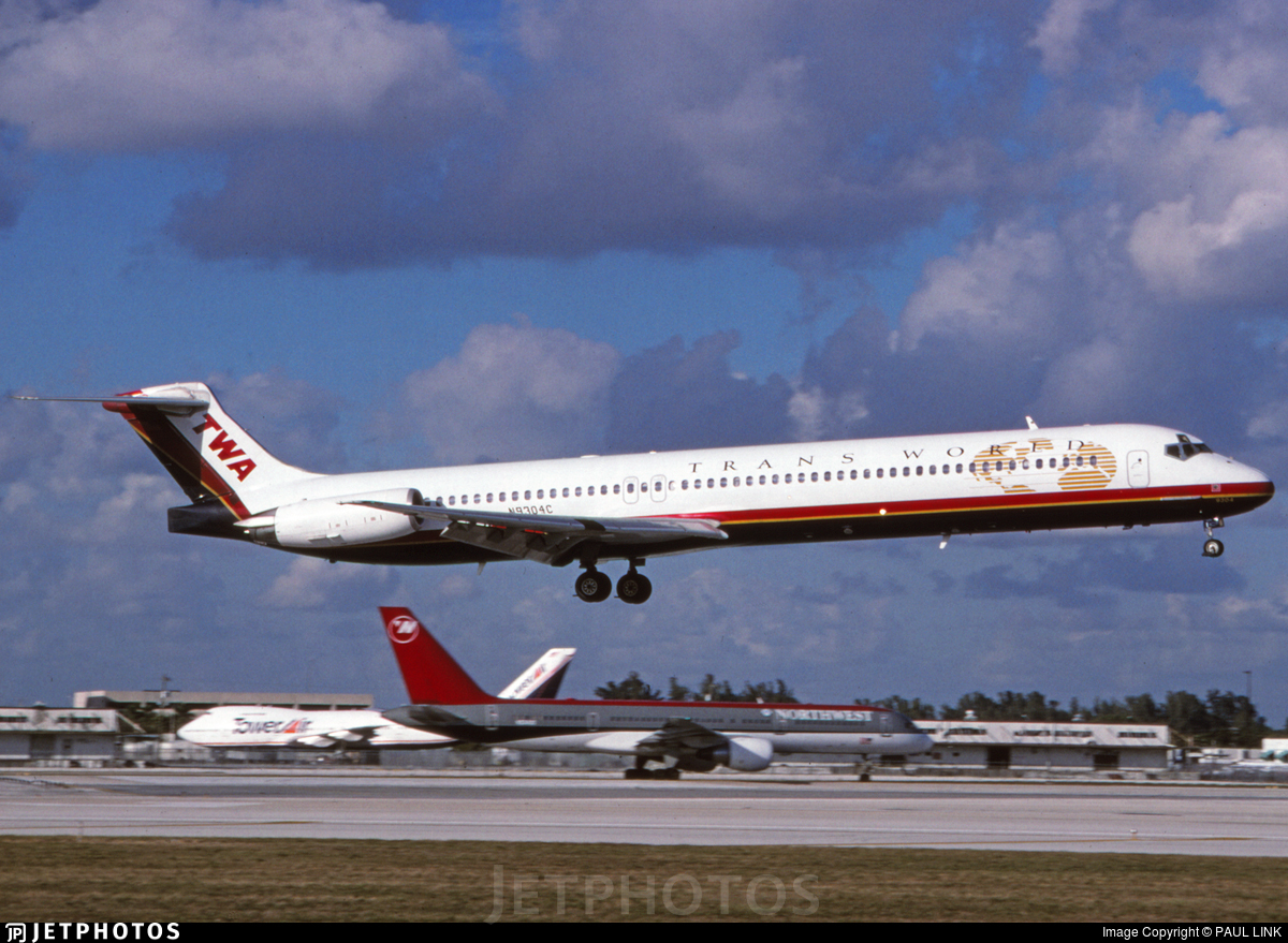 N9304C - McDonnell Douglas MD-83 - Trans World Airlines (TWA)
