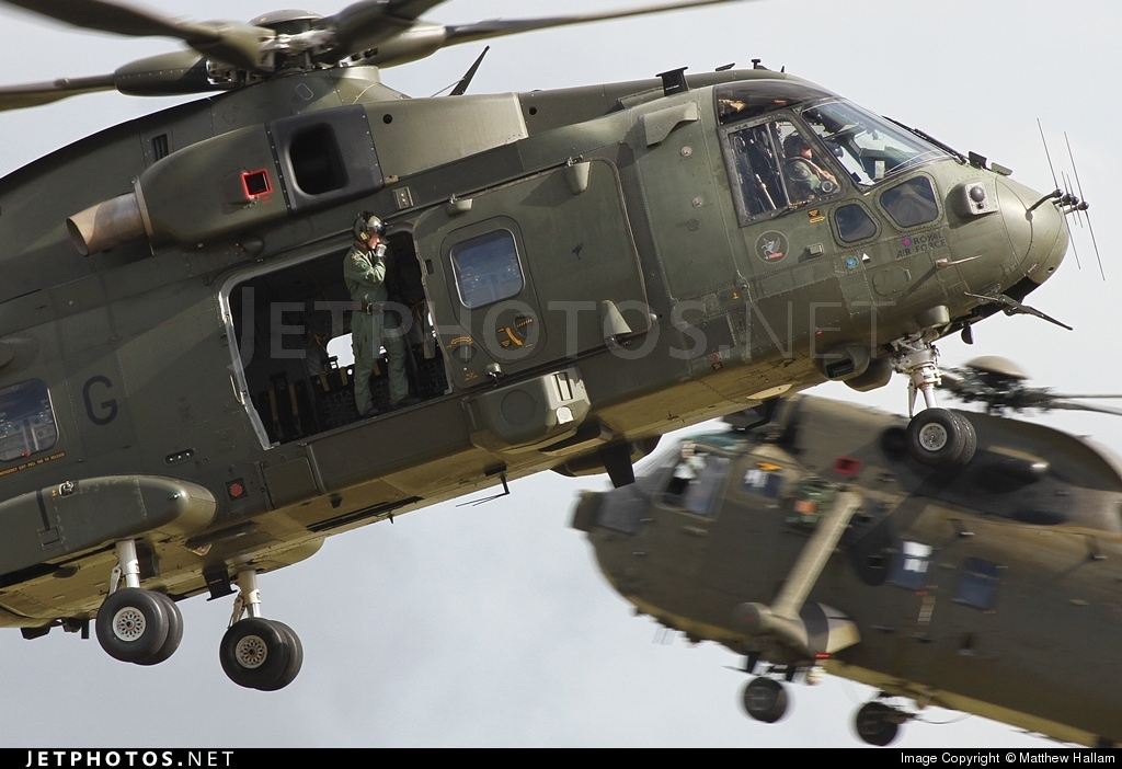 ZJ123 - Agusta-Westland Merlin HC.3 - United Kingdom - Royal Air Force (RAF)
