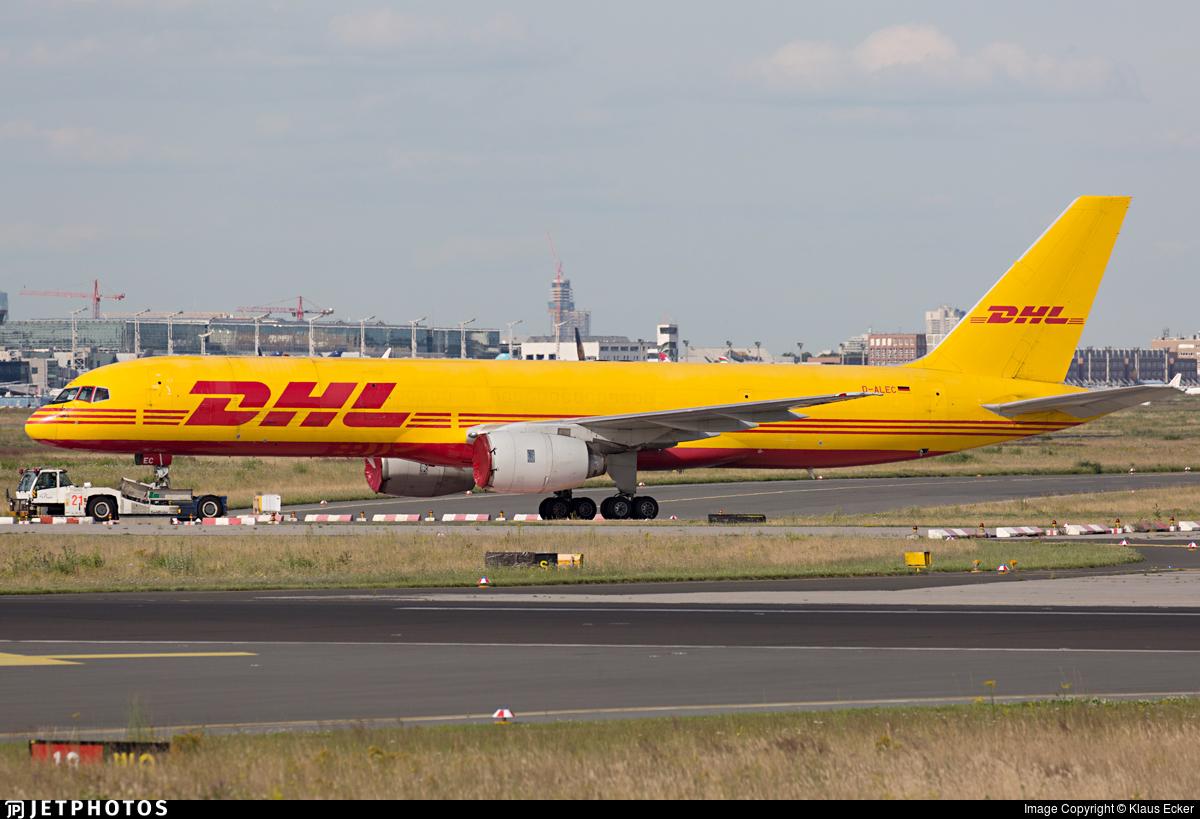 D-ALEC - Boeing 757-236(SF) - DHL (European Air Transport)
