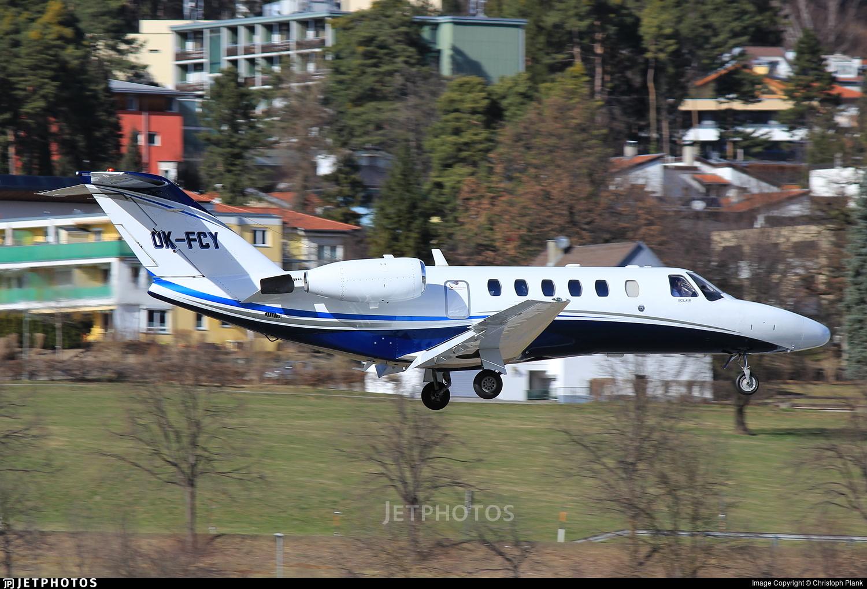 OK-FCY - Cessna 525A CitationJet 2 - Private