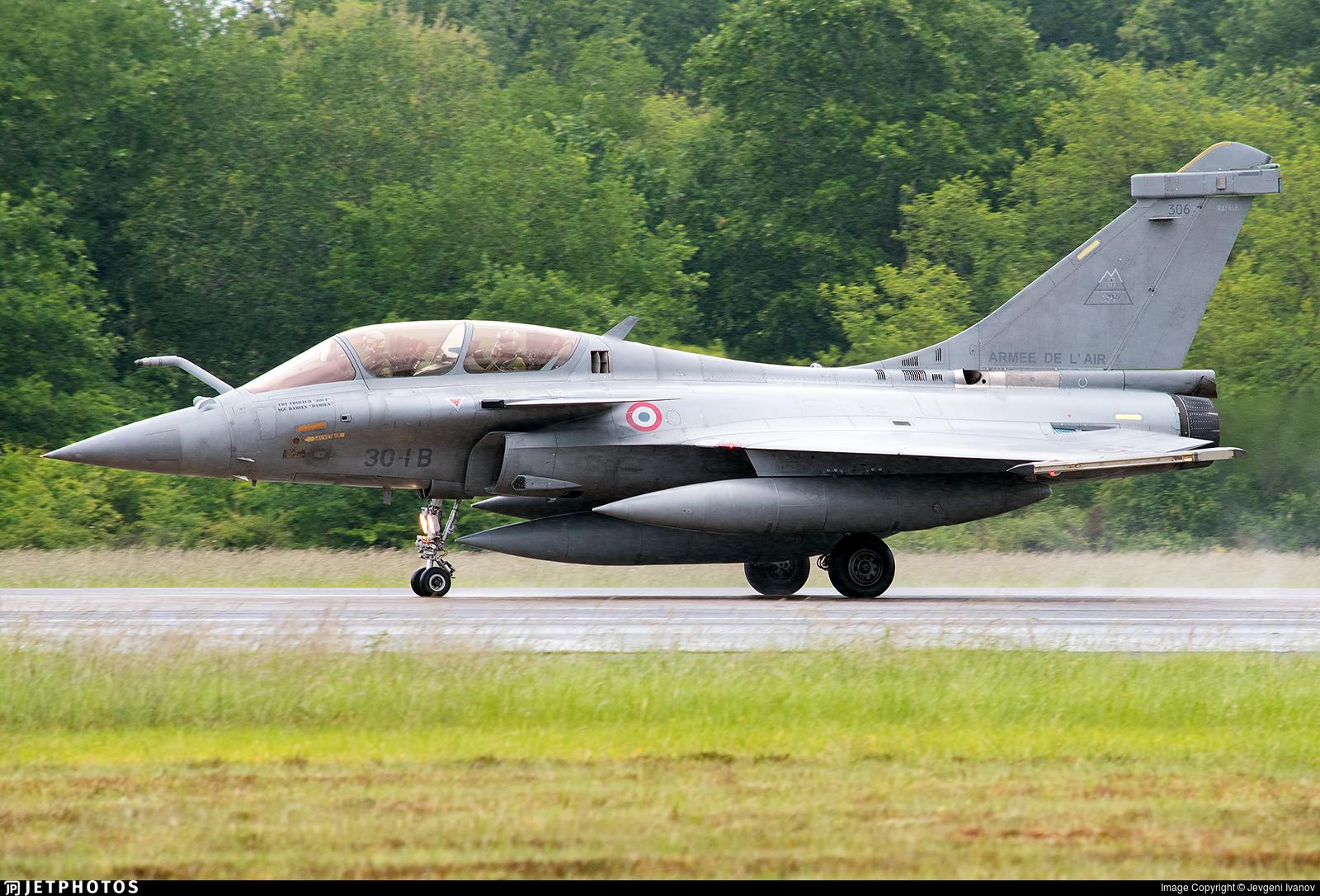 306 - Dassault Rafale B - France - Air Force