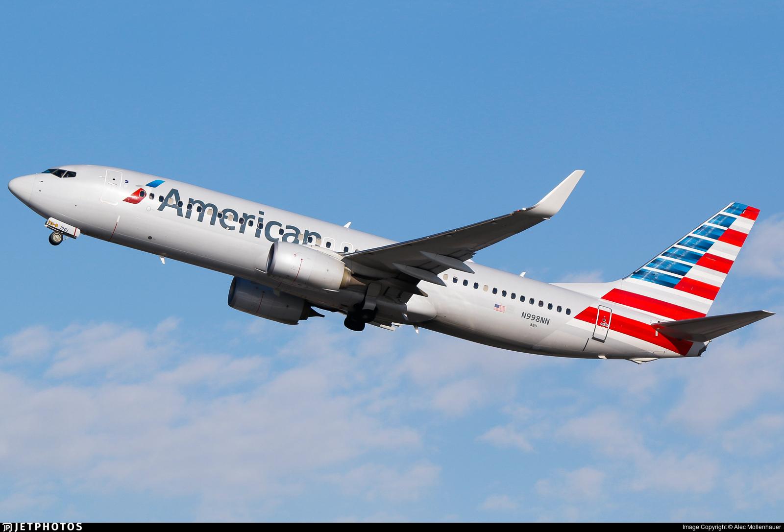 N998NN - Boeing 737-823 - American Airlines