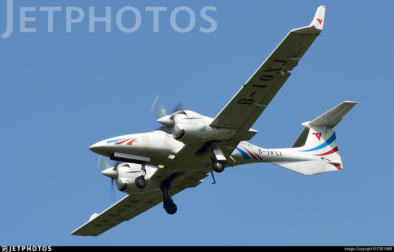 B-10XJ - Diamond DA-42 NG Twin Star - Civil Aviation Flight University of China