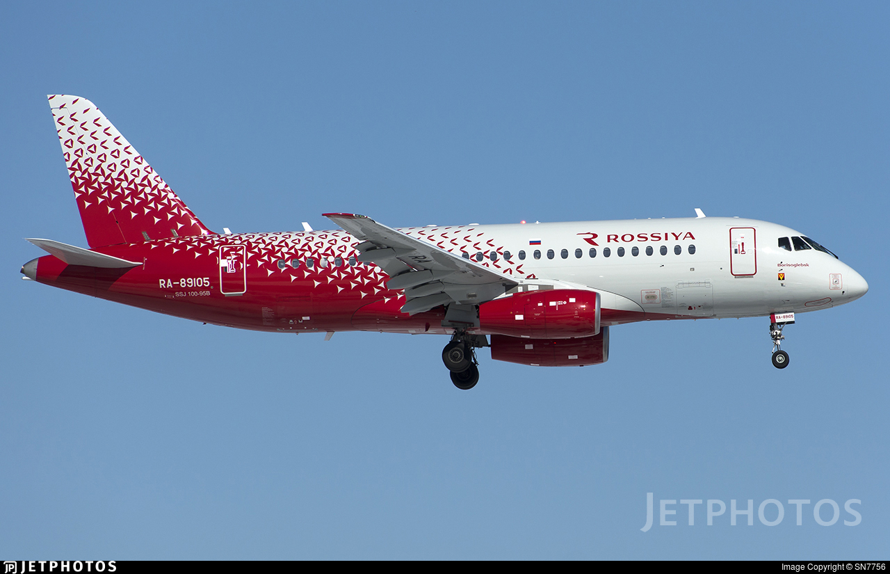 RA-89105 - Sukhoi Superjet 100-95B - Rossiya Airlines