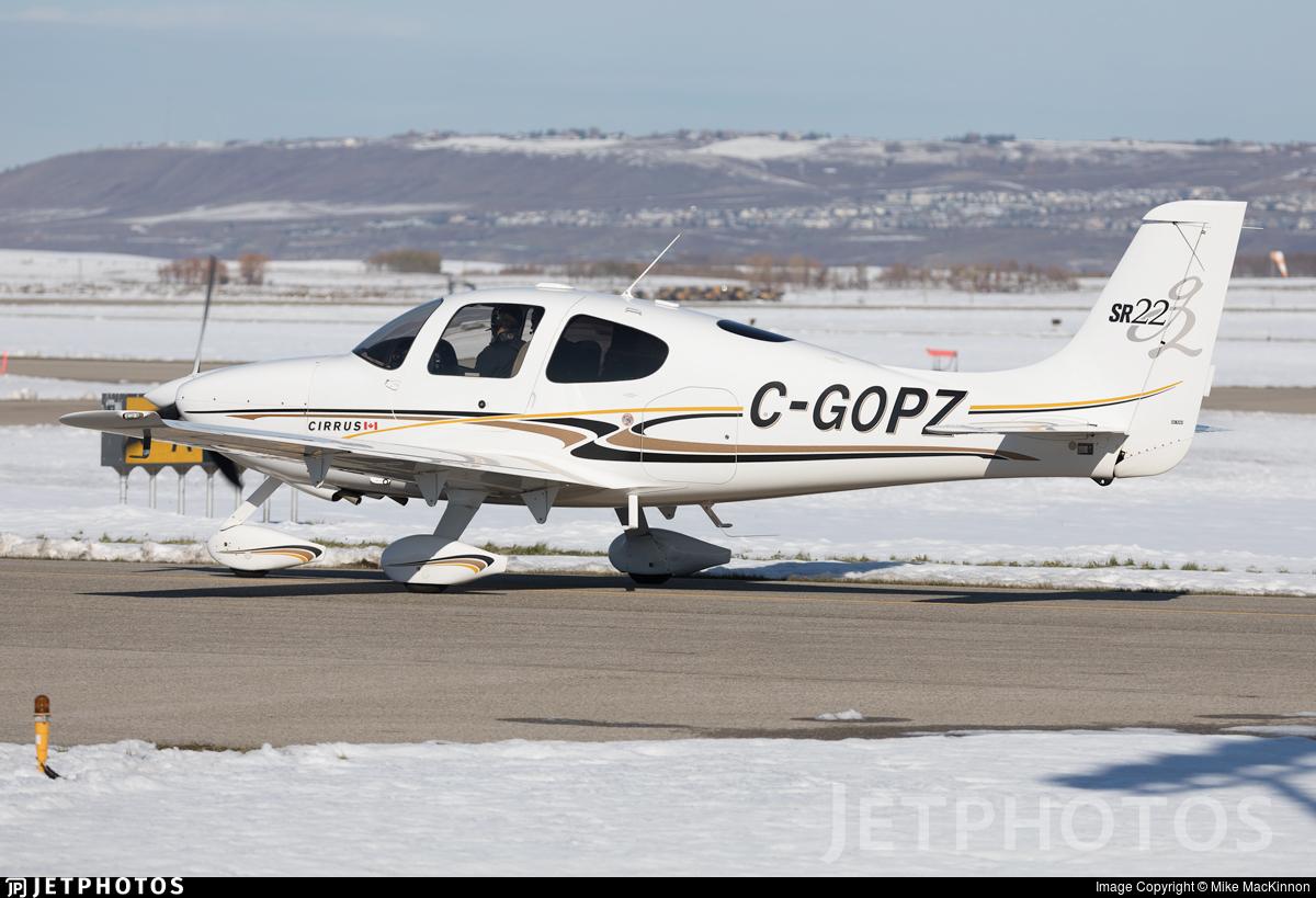 C-GOPZ - Cirrus SR22 - Private