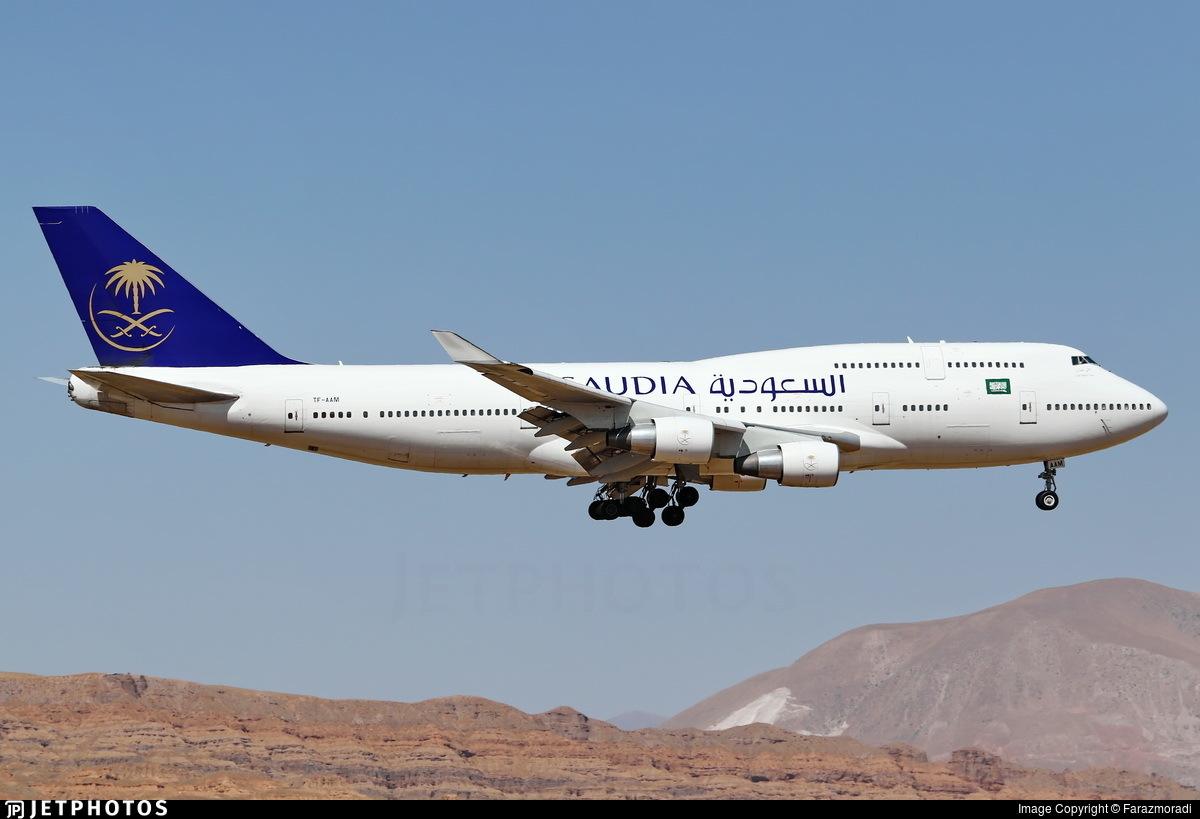 TF-AAM - Boeing 747-4H6 - Saudi Arabian Airlines (Air Atlanta Icelandic)