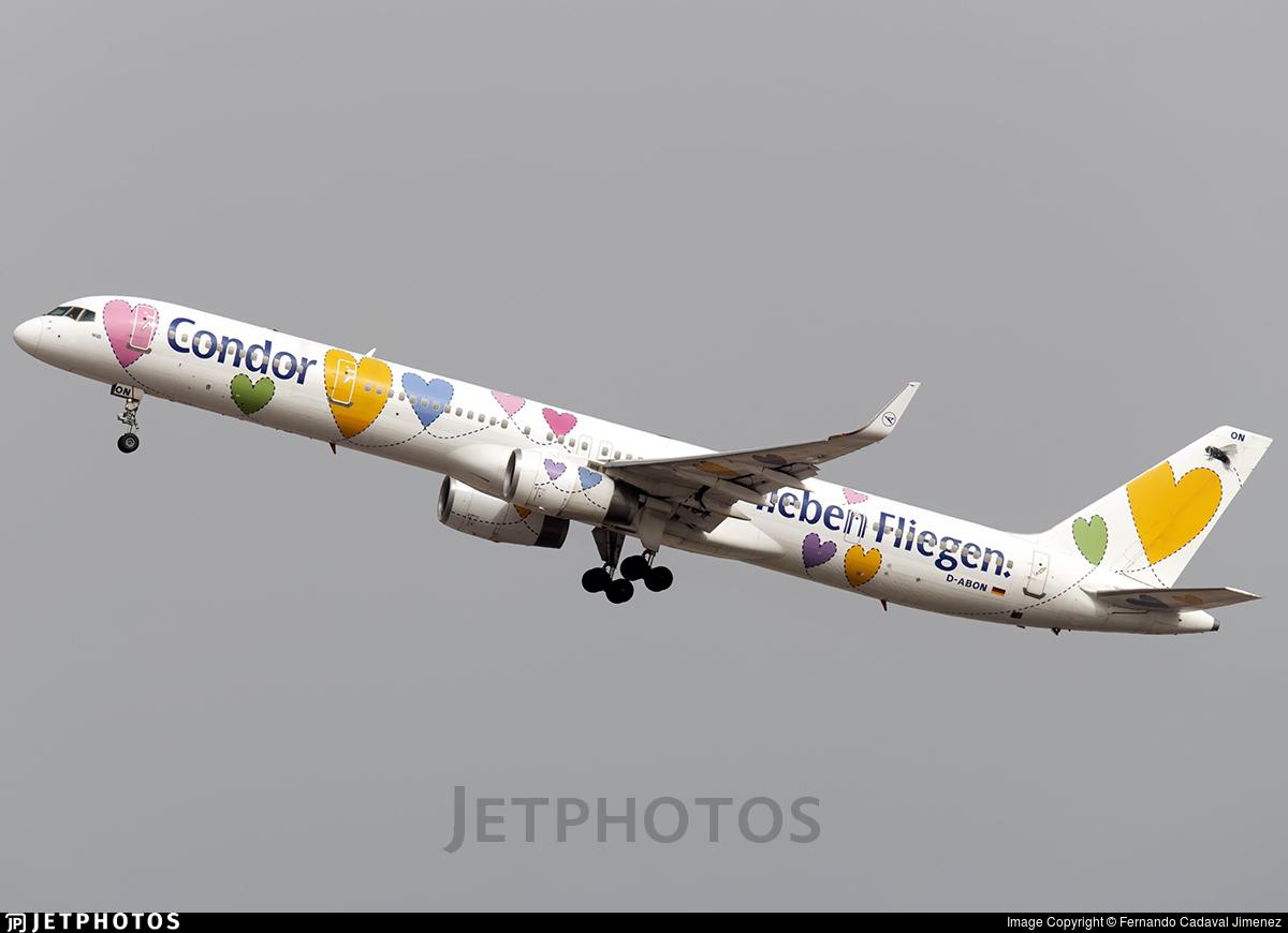 D-ABON   Boeing 757-330   Condor   Fernando Cadaval Jimenez