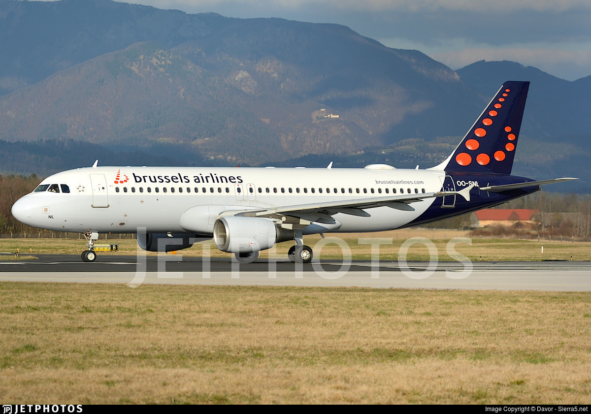 OO-SNL - Airbus A320-214 - Brussels Airlines